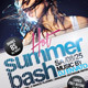 Hot Summer Bash Party Flyer - GraphicRiver Item for Sale