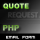 Request a Quote Form - PHP - ActiveDen Item for Sale