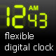 Flexible digital clock - ActiveDen Item for Sale