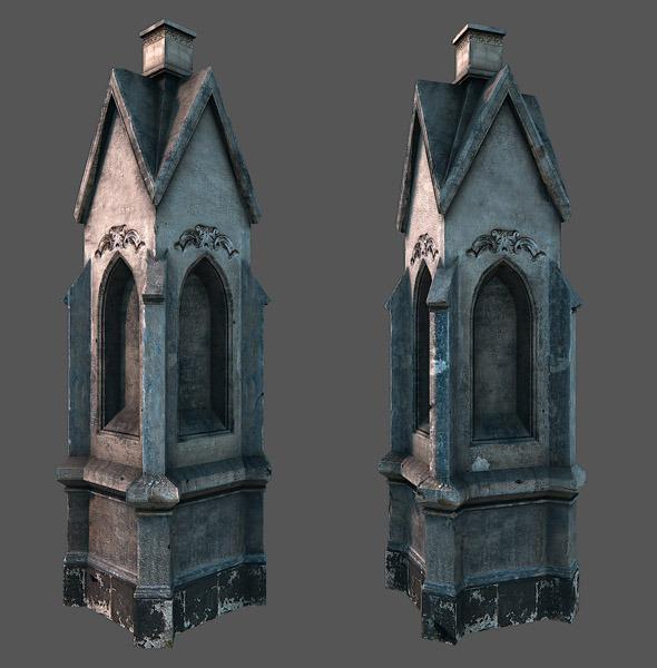 3DOcean Devotional pillar 2874148