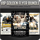 VIP Golden flyer Bundle - GraphicRiver Item for Sale