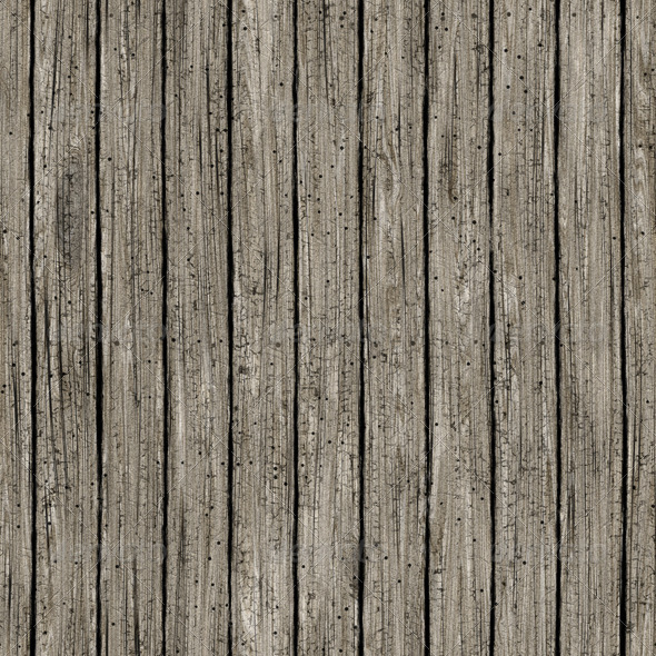 Weathered Wood Planks Seamless