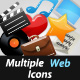 Multiple Web Icons