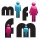 JN Vector Gender Icons V1.0 - GraphicRiver Item for Sale