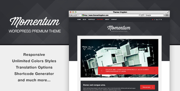 Momentum - Responsive WordPress Theme