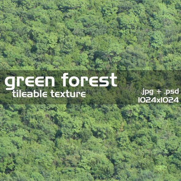 3DOcean Green Forest Texture 2877371