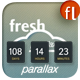 fresh Parallax Under Construction Countdown