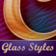 Beautiful Glass Text Effects and Style - GraphicRiver Item for Sale