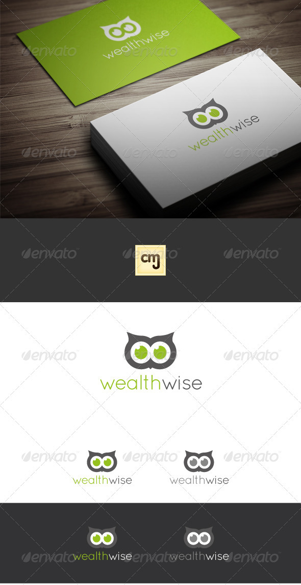 Wealth Wise Logo Template - Symbols Logo Templates