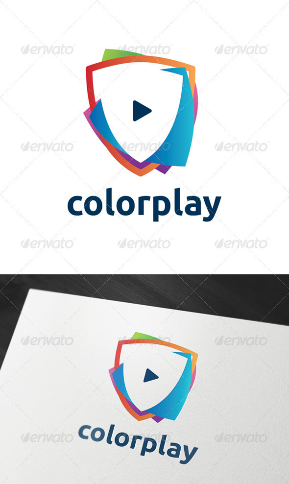 Colorplay Logo Template