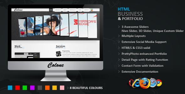 Colone 3 HTML Template