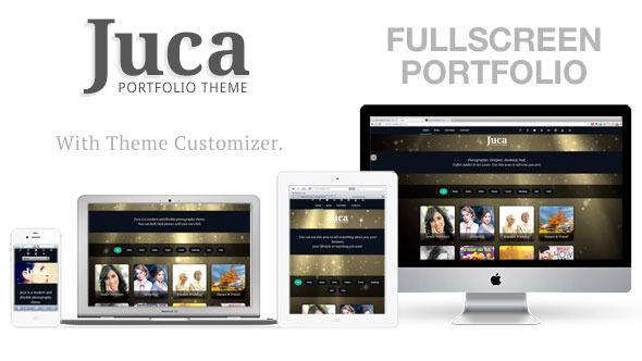 Juca - Fullscreen Portfolio