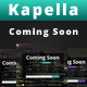 Kapella - Coming Soon Teamplate - ThemeForest Item for Sale