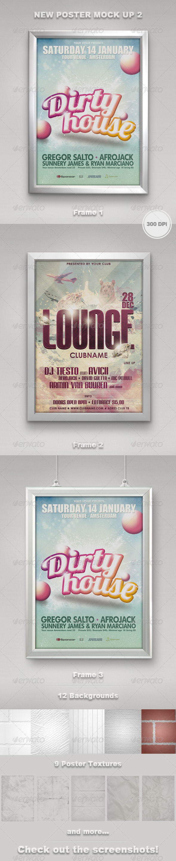 New Poster Mock Up 2 - Posters Print