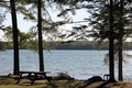Picnic Table and Lake - PhotoDune Item for Sale