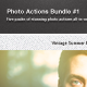 Photography Actions Bundle #1