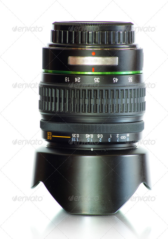 camera lens - Stock Photo - Images