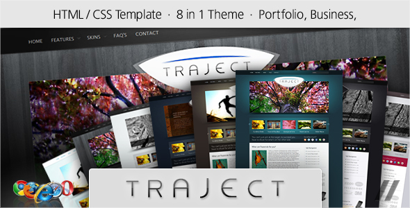 Traject - HTML Portfolio and Business Site