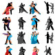 Dance vector - GraphicRiver Item for Sale