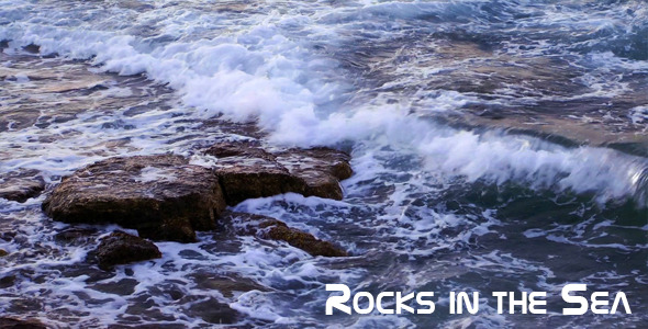 Rocks In The Sea 2