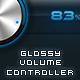 Glossy Volume Controller  - GraphicRiver Item for Sale