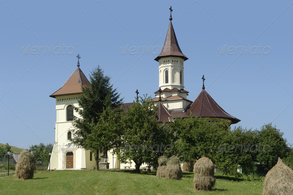 church in Romania - Stock Photo - Images