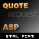 Request a Quote Form - ASP - ActiveDen Item for Sale