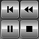 Media Player Icons Set V2 - ActiveDen Item for Sale