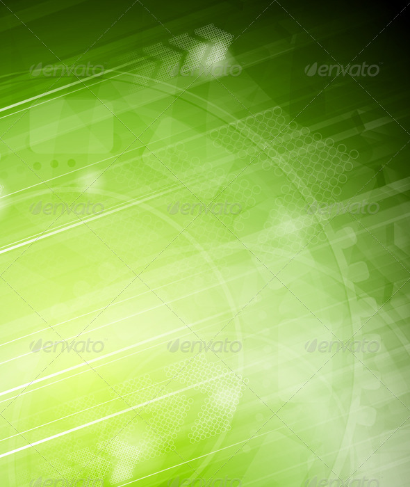 Vibrant technical background with arrows - Backgrounds Decorative