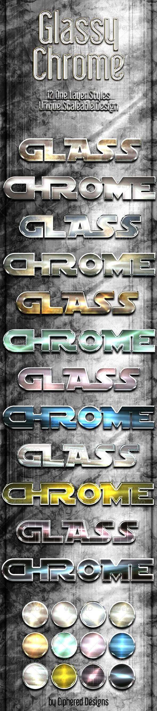 GraphicRiver Glassy Chrome Styles 2879258