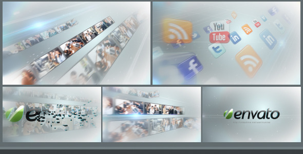 After Effects Project - VideoHive Multi Video logo Revealer 2871266