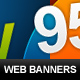Resizable Web Banners - GraphicRiver Item for Sale