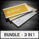 Business Cards Bundle #6 - GraphicRiver Item for Sale