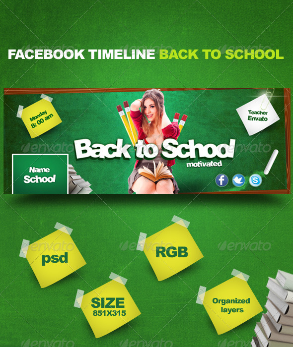 Facebook Timeline Back to School - Facebook Timeline Covers Social Media