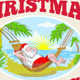 Santa Claus Father Christmas Beach Relaxing  - GraphicRiver Item for Sale