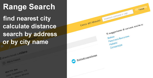 CodeCanyon Range Search by location 103647