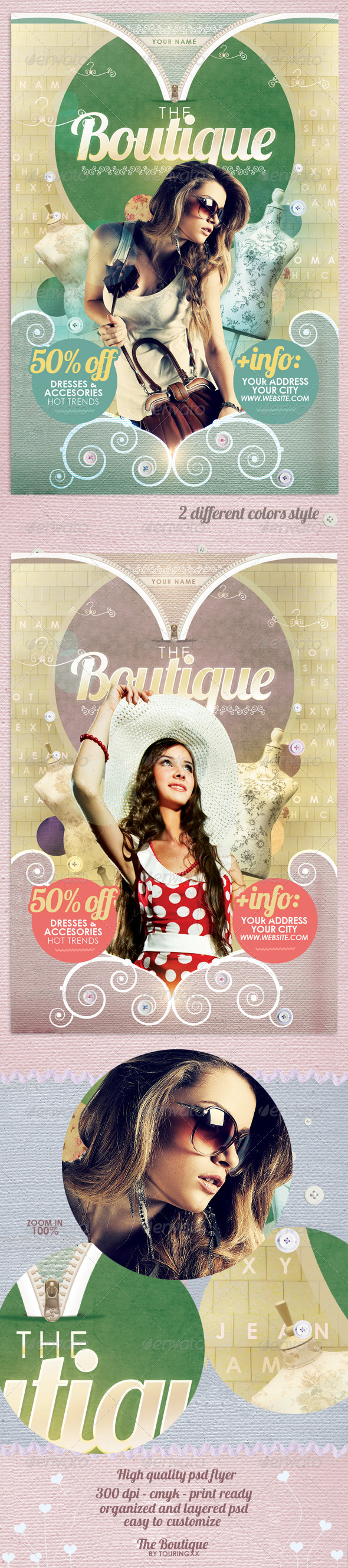 The Boutique Flyer Template - Commerce Flyers