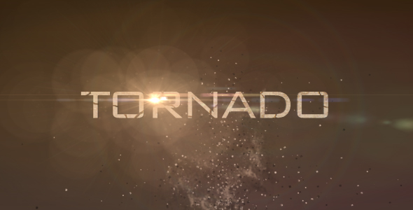 After Effects Project - VideoHive Tornado 103702