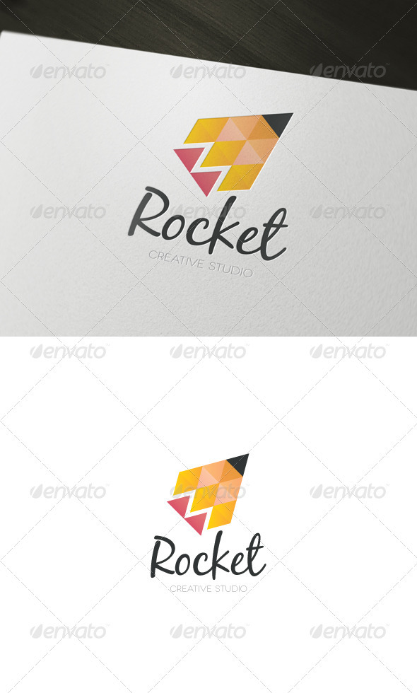 Rocket Creative Studio Logo - Abstract Logo Templates