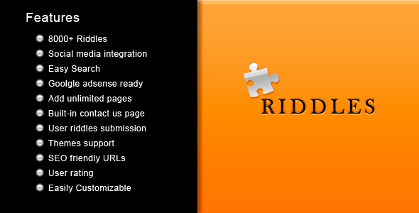 Riddles - CodeCanyon Item for Sale
