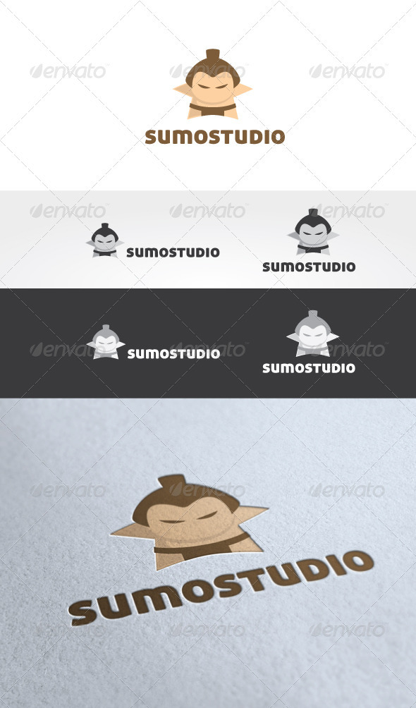 Sumo Studio Logo Template - Humans Logo Templates