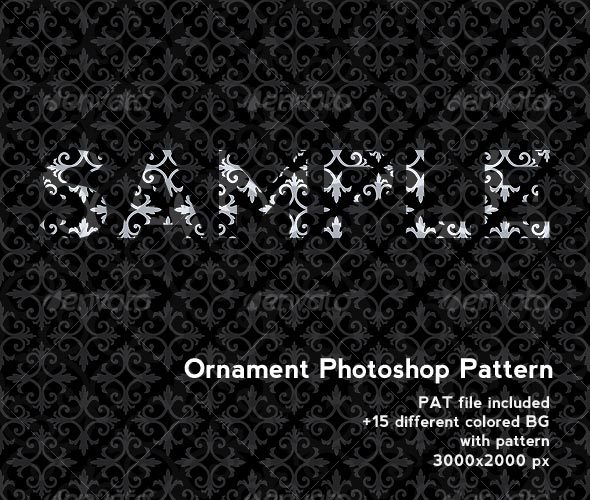 Photoshop Pattern - Geometrical Pattern - Photoshop Add-ons