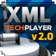 XML - TechPlayer v2.0 - ActiveDen Item for Sale