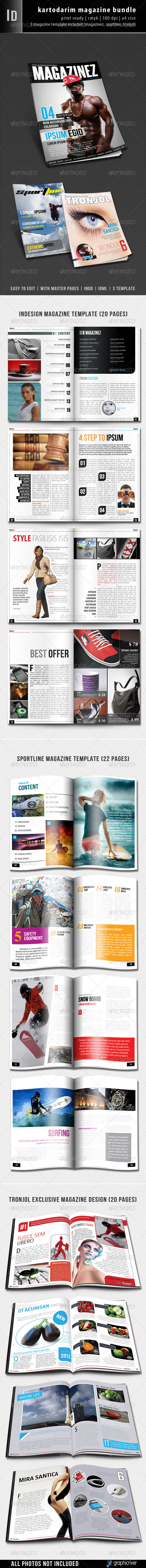 Kartodarim Magazine Bundle - Magazines Print Templates