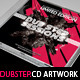 Dubstep Mixtape CD Artwork PSD Template - GraphicRiver Item for Sale