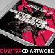 Dubstep Mixtape CD Artwork PSD Template