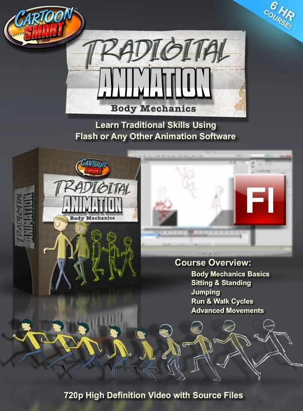 TutsPlus Tradigital Animation Techniques Body Mechanics 2894034