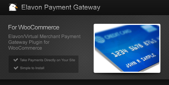 Elavon Payment Gateway for Woo Commerce