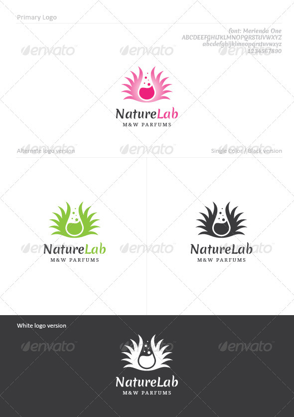 Nature Lab - Nature Logo Templates