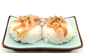 White rice with smoked salmon - PhotoDune Item for Sale